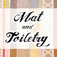 マット&トイレタリー
